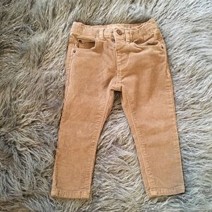 Zara baby boy corduroy pants